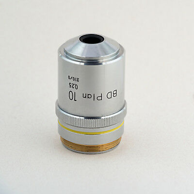 Nikon BD Plan 10 0.25 210/0 MIcroscope Objective, Excellent Condition
