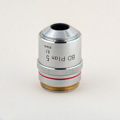 Nikon BD Plan 5 0.1 210/0 MIcroscope Objective, Excellent Condition
