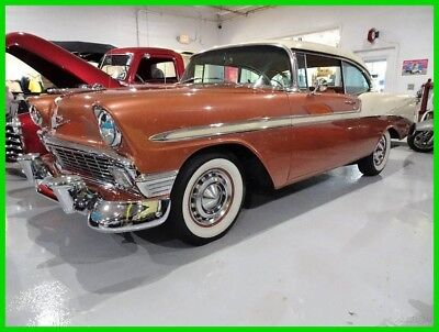 1956 Chevrolet Bel Air/150/210 150 210 Bel Air 1956 Chevrolet Bel Air 2-Dr Hardtop V8 Automatic Beautiful Chevy Low Reserve