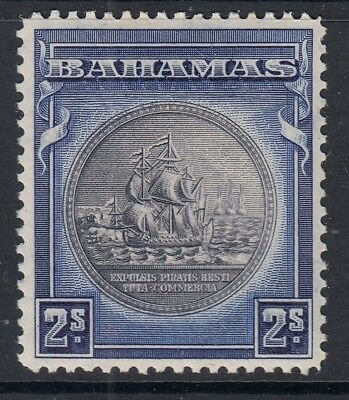 BAHAMAS SG131 1930 2/- mounted mint