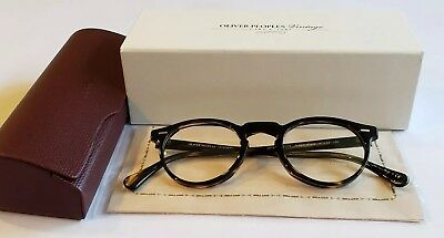 2a2c0c3658 Oliver Peoples Eyeglasses RX Gregory Peck Cocobolo OV5186 1003 47mm BNIB