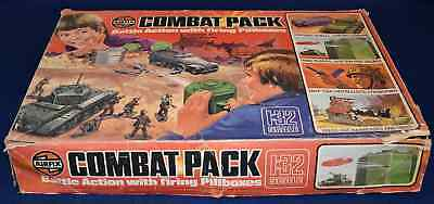 Airfix 51511-1 WWII Combat Pack Battle Action w Firing Pillboxes nearly complete