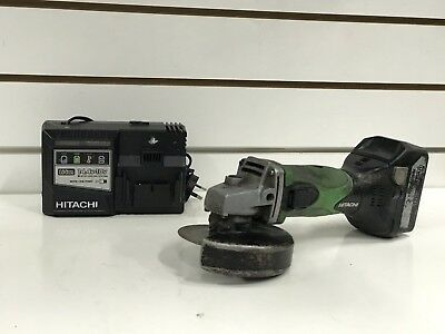 Hitachi G18DSL(S) 18V Cordless 125mm Angle Grinder with 5.0Ah Battery & Charger