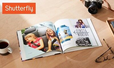 Shutterfly 8x8 Photo Book/$25 off Shutterfly Offer - Coupon CODE EXP. 4/1/19