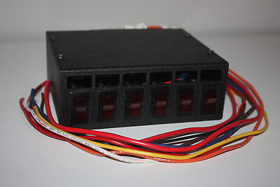 Whelen PCC Power Control Center, 6 Switch with Fuses, Lightbar