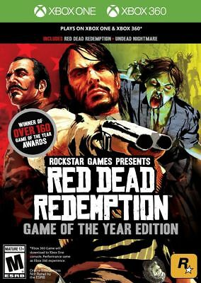 Red Dead Redemption Game of the Year Edition SEALED (Xbox 360 & Xbox One)