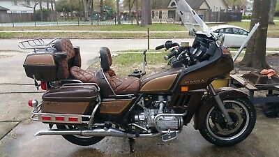 1982 Honda Gold Wing  1982 Honda Goldwing GL1100A Aspencade