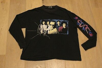 Vintage THE CURE WISH Tour 1992 Long Sleeve T-Shirt VTG 90s Black Tee The Smiths