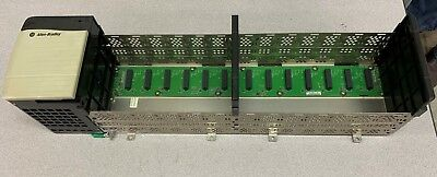 Allen-Bradley Controllogix 13-Slot Chassis 1756-A13 With Power Supply 1756-Pa72