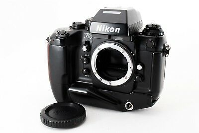 Exc++++ Nikon F4 SLR 35mm Film Camera AF Body / MB-21 #277802