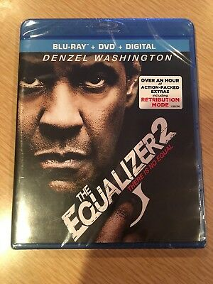 The Equalizer 2 Blu-ray DVD Digital (Brand New)
