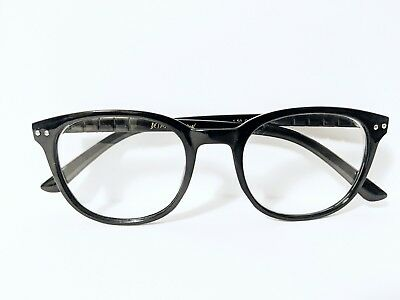 fedacdd931 BETSEY JOHNSON READING Glasses Red Thick Plastic Retro Frame Readers ...