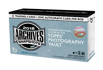 2018 Topps Archives Snapshots Base - Pick Your Card - Complete Your Set!
