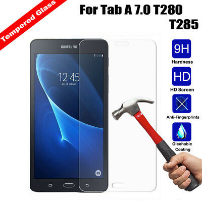 For Samsung Galaxy Tab A 7.0 T280 T285 Premium Tempered GLASS Screen Protector