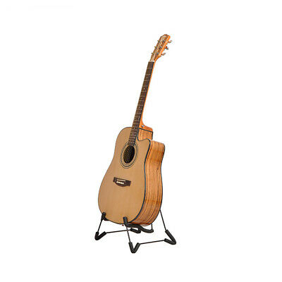Usa Folding Guitar Stand Foldable A-Frame Music Floor Electric Acoustic Bass New