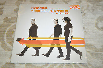 RARE SEALED Hanson Middle of Everywhere The Greatest Hits 3XLP Vinyl Record