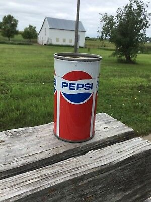 Vintage Pepsi-Cola Can Top Cut Off Made Into A Pencil Holder