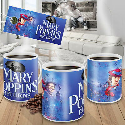Mary Poppins Returns mug 11oz cup gift
