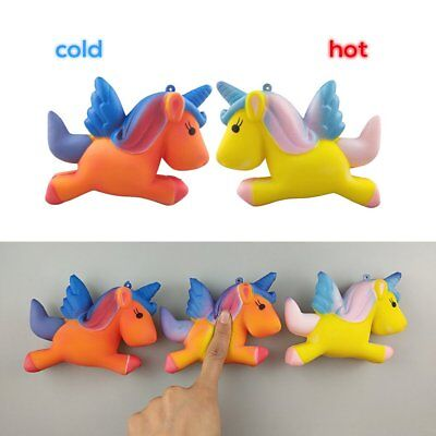 Temperature Colour Change Slow Rising Scented Squeeze Toy Stress Reliever BK