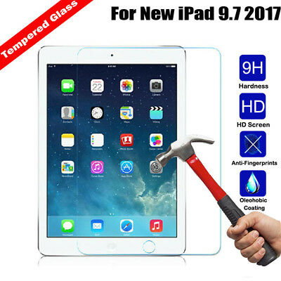 9H Hardness Tempered Glass Screen Protector For New iPad 9.7 2017/ 2018 Tablet