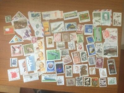 Poland  - mixed lot of used stamps on+off paper - lot2