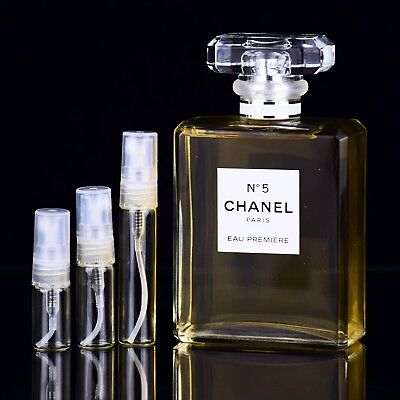 Chanel No 5 Eau Premiere Parfum Sample 2ml 3ml 5ml Perfume 750