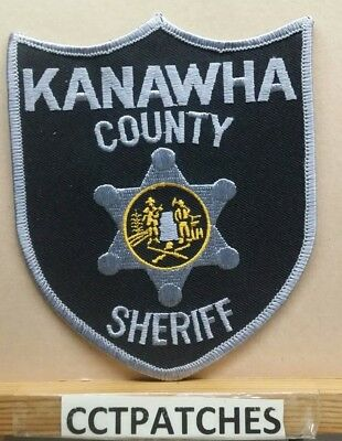 Kanawha County, West Virginia Sheriff (Police) Shoulder Patch Wv