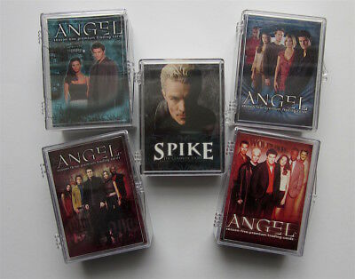 Angel - Jäger der Finsternis + Spike  - 5 x Trading Card Sets - Inkworks