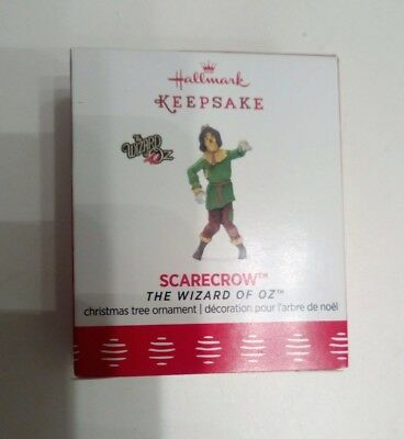 2018 The Wizard Of Oz Scarecrow Hallmark Ornament Limited Edition Never Opened