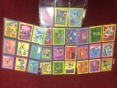 Simpsons Skybox Bongo Trading Cards Series 1 Itchy & Scatchy Set