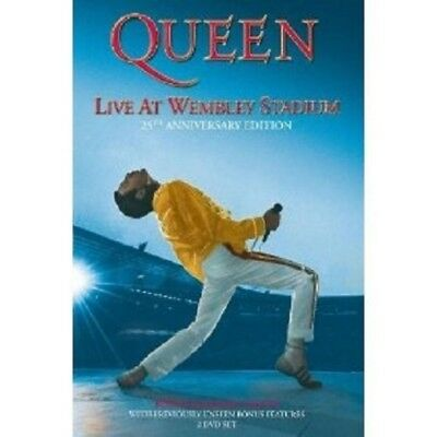 "Queen ""live At Wembley"" 2 Dvd 25Th Ann. New"