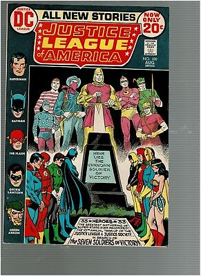 Justice League America 100 JSA 7 Soldiers of Victory VF+