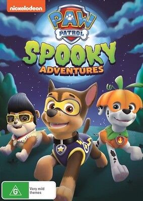 Paw Patrol - Spooky Adventures (Dvd, 2017) 🍿 [Brand New & Sealed]