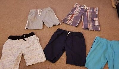 Bundle of x5 used Boys Aged 8-9 Years shorts