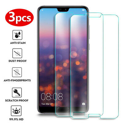 3X Tempered Glass Screen Protector Film Cover For Xiaomi Mi 8 Lite A1 A2 6 Pro 5