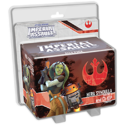Star Wars: Imperial Assault Hera Syndulla and C1-10P Ally Pack