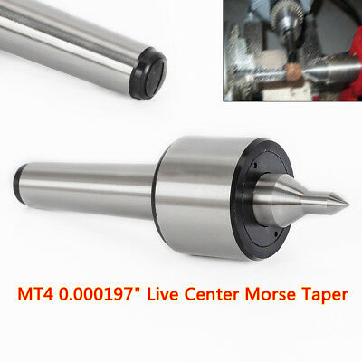 4MT Spindle Lathe Live Center Morse Taper 0.01mm CNC Precision Long Morse Taper