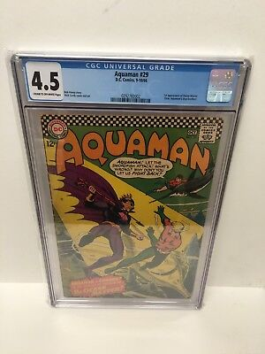 Aquaman #29 Cgc 4.5 Vg+ The Origin & First Appearance Of Ocean Master!