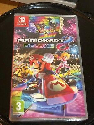 NEW***Mario Kart 8 Deluxe - Nintendo Switch***UNOPENED