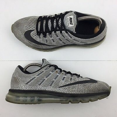 size 40 3837f 9d6aa Nike Air Max 2016 Oreo Running Shoes Athletic Sneakers 806771-101 Men s Size  10