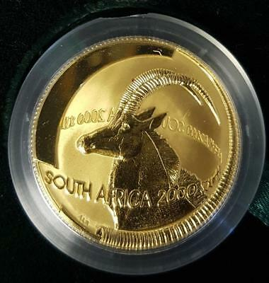 Natura 1oz Gold coin - The Sable, 9999 pure