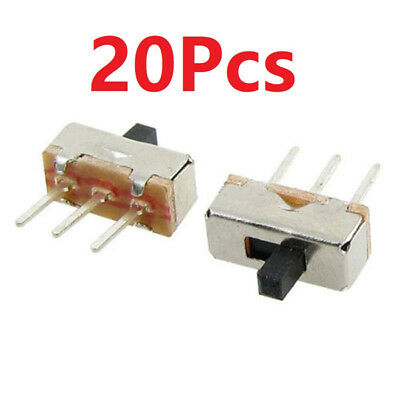 X20 3 Pin SS12D00G3 2 Position SPDT 1P2T PCB Panel Mini Vertical Slide Switch