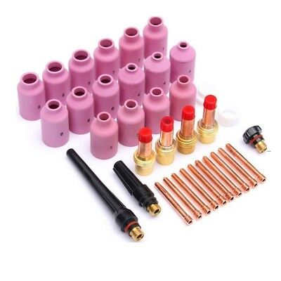 35pcs TIG KIT&TIG Welding Torches Accessories Collets Nozzles Kit for WP17/18/26