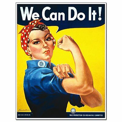 Feminist Icon Rosie The Riveter We Can Do It