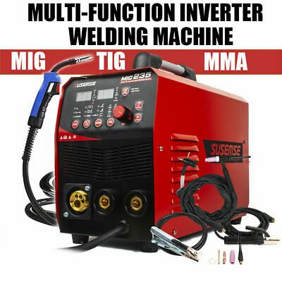 230V MIG/TIG/MMA Welding Machine DC Inverter 200A 3 in1 TIG ARC Welders & Torch