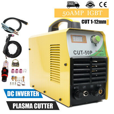 CUT50P Electric Air Plasma Cutter Digital 220V Inverter Cutting Machine 50A Kits