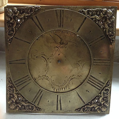 18th C Longcase Clock Face and 30 hr Movement James Rendell Barnstaple
