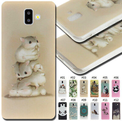 For Samsung Galaxy Painted Silicone Fashion Back Case Cover TPU Soft Cute Skin