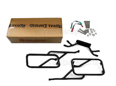 Genuine Royal Enfield Himalayan Pannier Rails with Trafficator Wiring