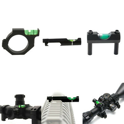 Alloy Ring Scope Mount W/Bubble Level for Rifle Laser Sight Tube Hunting 5 Size